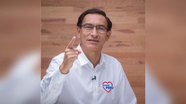 El ex presidente Martín Vizcarra se perfila como el candidato más votado para el Congreso 2021-2026.