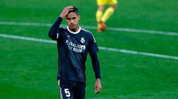 Raphael Varane y un nueva ausencia con el Real Madrid: no estará ante Getafe