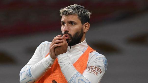 Sergio Agüero y la posiblidad de jugar en Barcelona en este 2021.