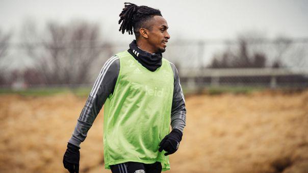 Yordy Reyna llegó al DC United en 2020
