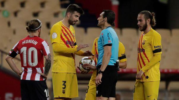 A Gerard Piqué y Barcelona les queda pelear por LaLiga Santander.