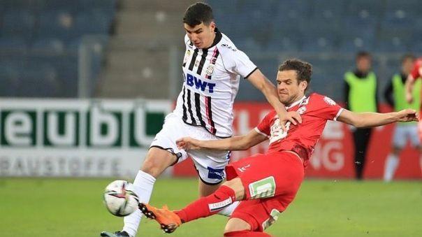 Matías Succar fue cedido al FC Juniors de Austria