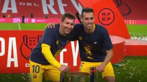 Lionel Messi lo ha ganado todo con la camiseta del Barcelona.