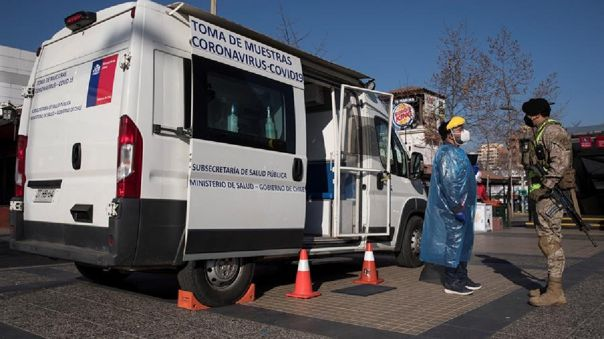 Pandemia repunta en Chile
