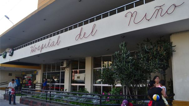 Hospital del Niño en Breña.