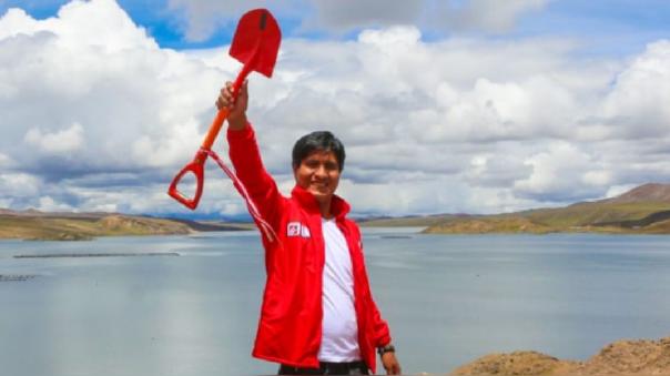 Wilson Soto Palacios, virtual congresista de Huancavelica por Acción Popular
