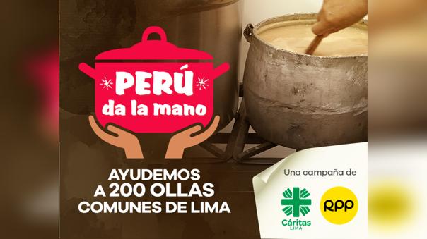 Campaña 'Perú da la mano'