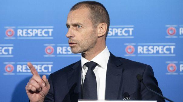 Presidente de la UEFA en contra de la creación de la Superliga