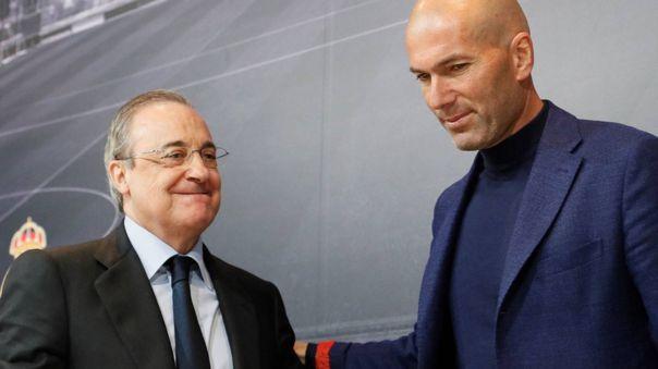 Florentino Pérez es el presidente de la Superliga europea