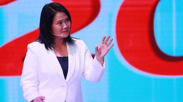 Keiko Fujimori pasó a la segunda vuelta junto con Pedro Castillo.