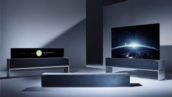 El LG Signature OLED R tiene una variedad de modos, incluido uno como equipo de sonido.