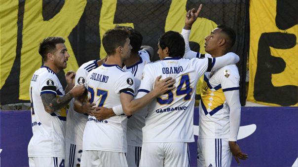 Boca Juniors logró una clave victoria en su debut en la Copa Libertadores 2021.