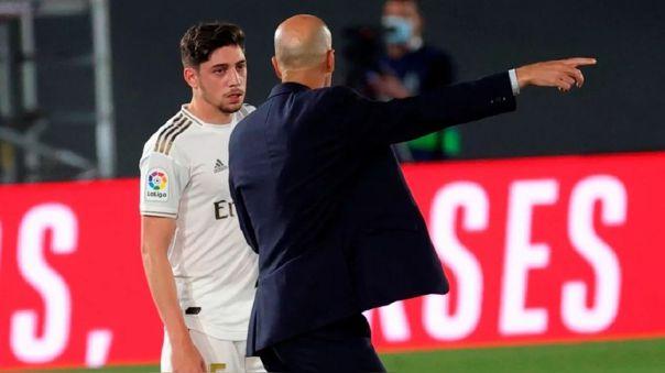 Federico Valverde es una de las piezas de recambio de Zidane en Real Madrid.