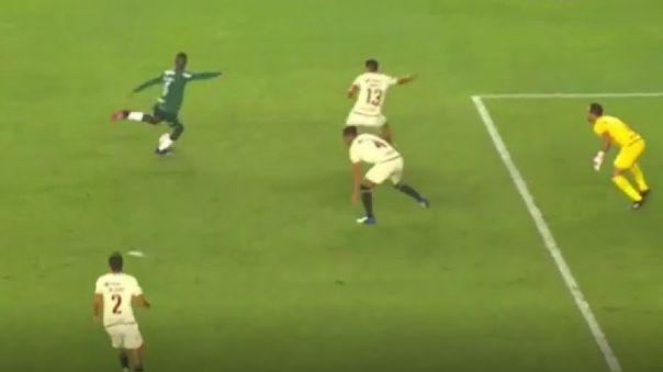 Universitario y Palmeiras se enfrentaron en el Estadio Monumental.