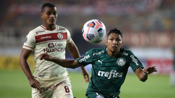 Universitario se quedó con las manos vacías frente al Palmeiras.