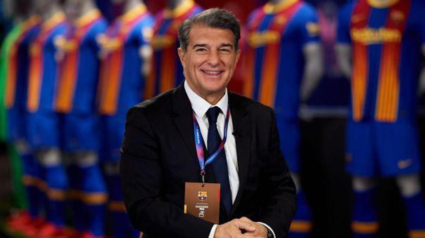 Presidente del Barcelona sale al frente: