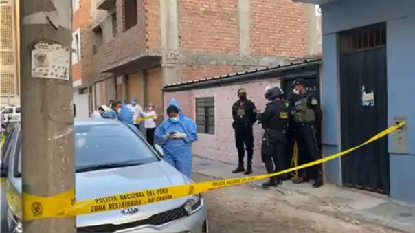 El crimen habría ocurrido en una vivienda de la calle Los Ficus en Santiago de Surco.