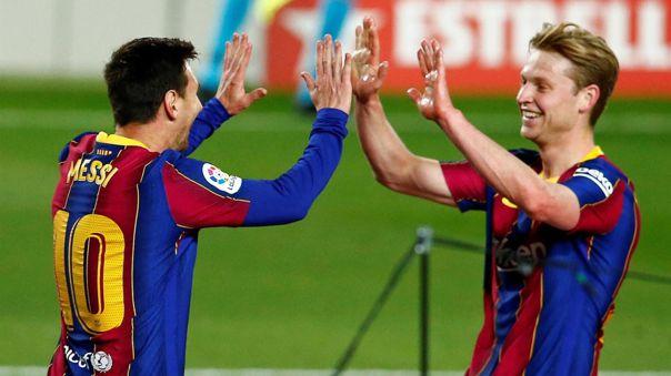 Barcelona llegó nuevamente al segundo lugar de LaLiga.