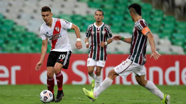 River Plate no pudo ganar en su estreno en la Copa Libertadores 2021.