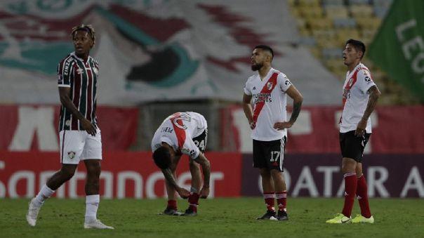 River Plate igualó con Fluminense en su debut en la Libertadores