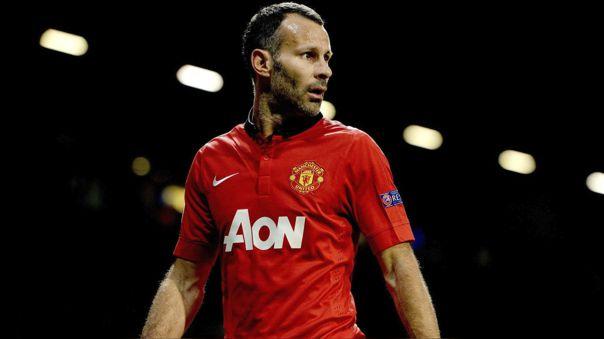 Ryan Giggs se convirtió en leyenda del Manchester United