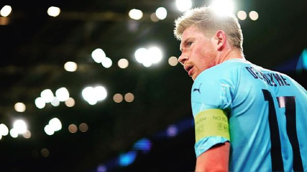 Kevin De Bruyne busca ganar su primera Champions League