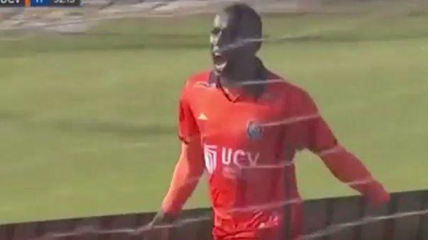 Yorleys Mena le anotó a Alianza Lima con la César Vallejo.