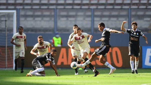 Universitario vs Sporting Cristal