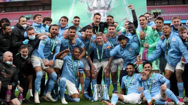 MAN CITY CAMPEÓN DE LA English League Cup