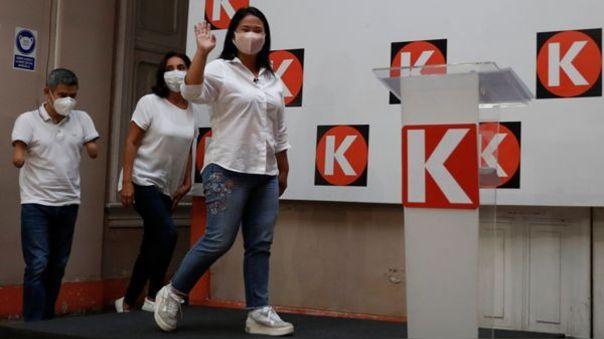 La candidata Keiko Fujimori expuso algunas de sus propuestas para fomentar la formalización del sector Transporte.