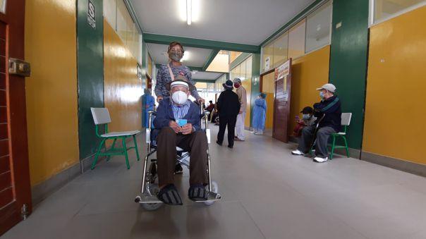 Lambayeque: Adulto mayor de 113 años fue uno de los primeros en vacunarse contra la COVID-19