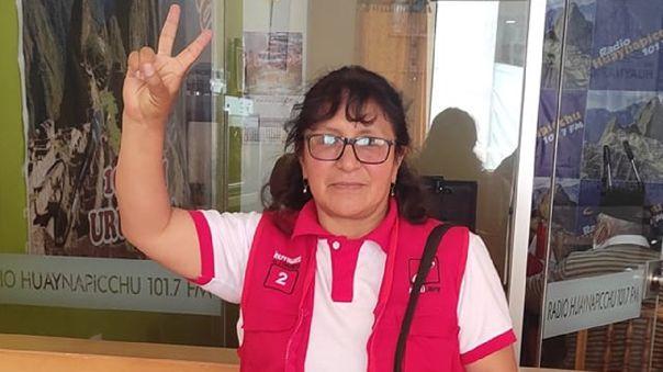 Katy Ugarte, virtual congresista de Perú Libre