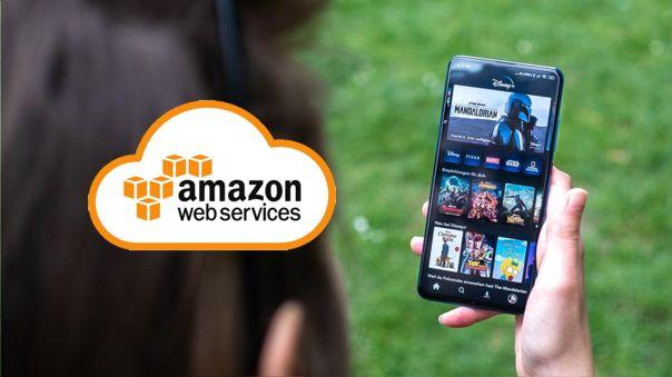 Disney+ anuncia partnership con Amazon Web Services para dar soporte a su streaming