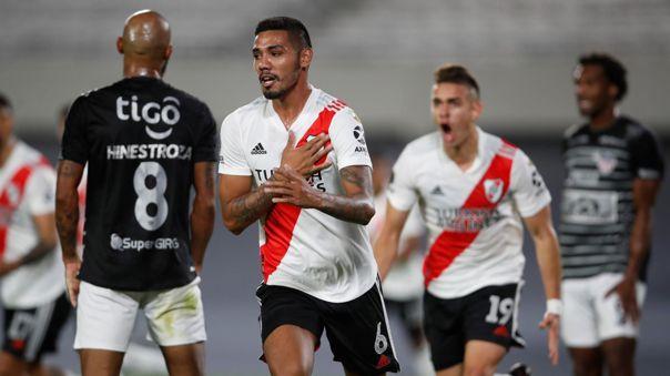 River Plate ya tiene cuatro puntos en la Copa Libertadores 2021.