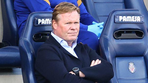 Ronald Koeman dirige su primera temporada en Barcelona.
