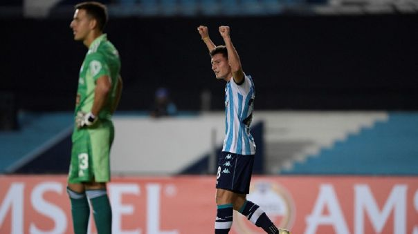 Racing Club venció 2-1 a Sporting Cristal por la fecha 2 de la Copa Libertadores