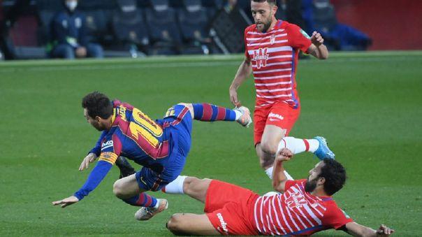 Granada derrotó a Barcelona en el Camp Nou