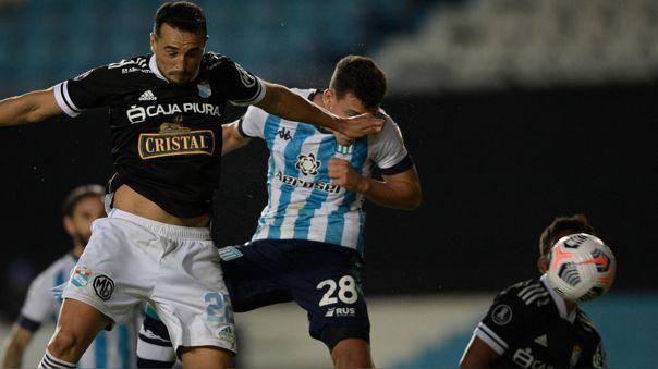 Sporting Cristal perdió 2-1 ante Racing Club por la Copa Libertadores