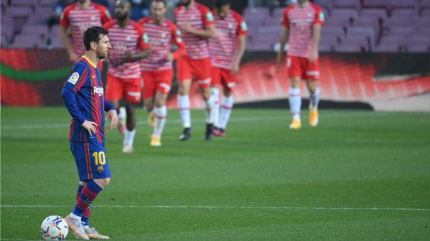 Barcelona perdió 1-2 ante Granada por la fecha 33 de LaLiga