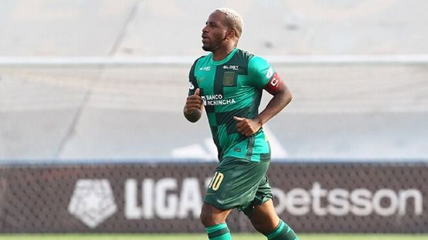 Jefferson Farfán tiene un gol con Alianza Lima en la Liga 1 Betsson.