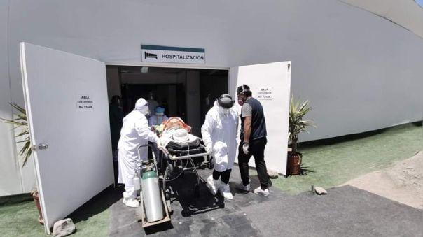 Hospitales de Arequipa sin disponibilidad de camas en la UCI.