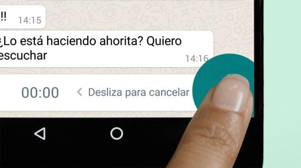 Los mensajes de voz, una de las funciones más populares de WhatsApp.