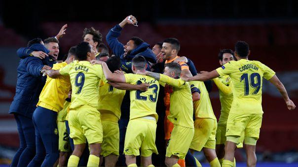 Villarreal sigue con el sueño de obtener la Europa League.