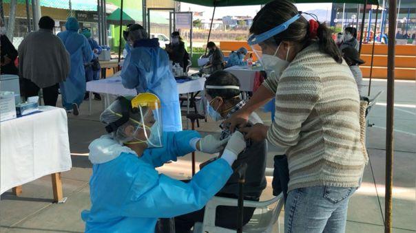 Vacunación Arequipa