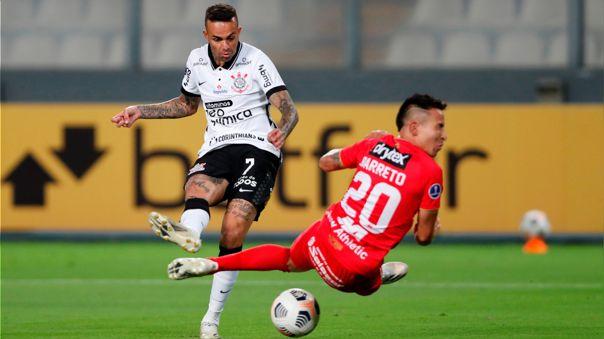 Corinthians no pasó apuros para derrotar al Sport Huancayo.