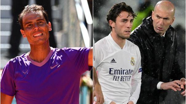Rafael Nadal respaldó la continuidad de Zidane en el Real Madrid