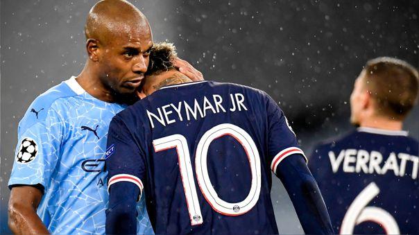 Neymar quedó eliminado de la Champions League por Manchester City