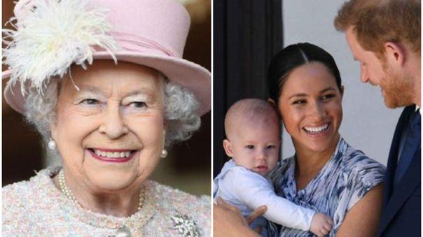 Reina Isabel II felicita a su bisnieto Archie por su cumpleaños