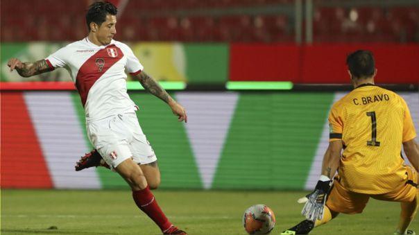 Gianluca Lapadula lleva dos partidos jugados con la Selección Peruana