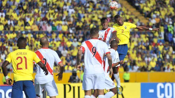 Perú visitará a Ecuador por la octava fecha de Eliminatorias